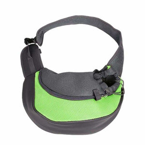 Pet Carrier Shoulder Bag - Dog Carriers - green / S - pet-carrier-shoulder-bag