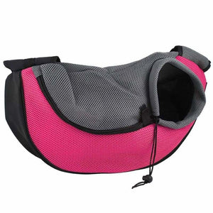 Pet Carrier Shoulder Bag - Dog Carriers - pink / S - pet-carrier-shoulder-bag