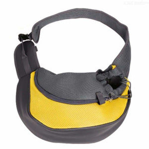 Pet Carrier Shoulder Bag - Dog Carriers - yellow / S - pet-carrier-shoulder-bag