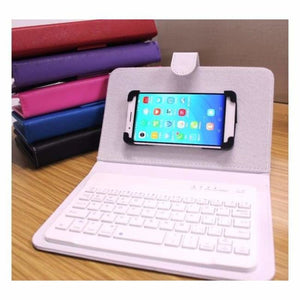 Portable Bluetooth Smartphone Keyboard - Mobile Phone Holders & Stands - portable-bluetooth-smartphone-keyboard