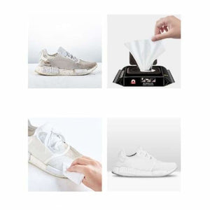 Portable Disposable Sneakers Cleaner - Cleaning Cloths - portable-disposable-sneakers-cleaner