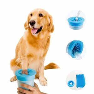 Portable Dog Paw Cleaner Cup - Dog Combs - portable-dog-paw-cleaner-cup