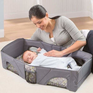 Portable Folding Baby Crib - Baby Cribs