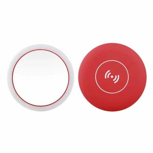 Portable LED Makeup Mirror - Makeup Mirrors - Red -