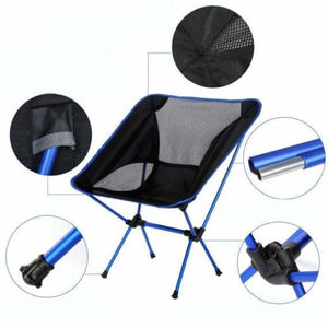 Portable Lightweight Fishing Chair - Beach Chairs - portable-lightweight-fishing-chair