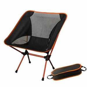 Portable Lightweight Fishing Chair - Beach Chairs - orange - portable-lightweight-fishing-chair