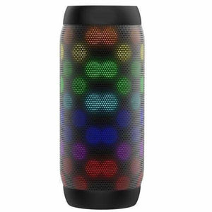 Portable Speaker With LED Lights & Bluetooth - Black - Portable Speakers
