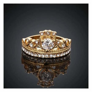Princess Crown Ring - Rings