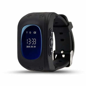 Q50 Kids Smartwatch with GPS Location Finding (SOS Button) - Black / English Version - Home