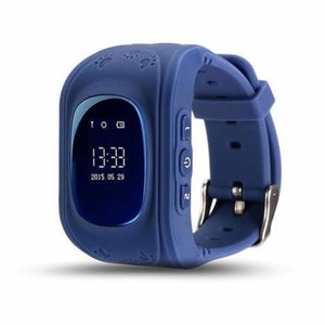 Q50 Kids Smartwatch with GPS Location Finding (SOS Button) - Blue / English Version - Home