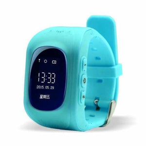 Q50 Kids Smartwatch with GPS Location Finding (SOS Button) - Light Blue / English Version - Home