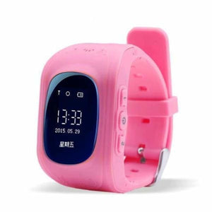 Q50 Kids Smartwatch with GPS Location Finding (SOS Button) - Pink / English Version - Home