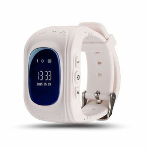Q50 Kids Smartwatch with GPS Location Finding (SOS Button) - White / English Version - Home