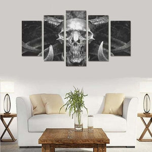 Rams Skull Canvas Print Sets (No Frame) - Canvas Print Sets A (No Frame)