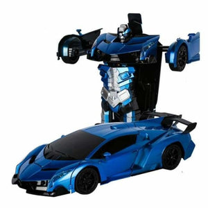 RC Transforming Car - RC Voitures - Blue - rc-transforming-car