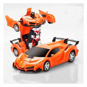 RC Transforming Car - RC Voitures - Orange - rc-transforming-car