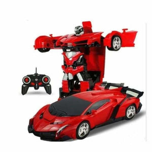 RC Transforming Car - RC Voitures - Red - rc-transforming-car