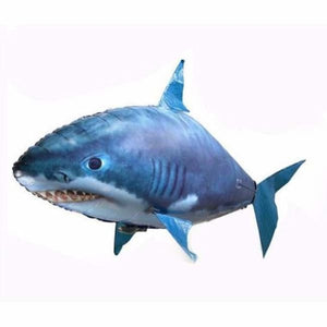 Remote Control Air Swimming Shark & Clownfish - Blue - Home