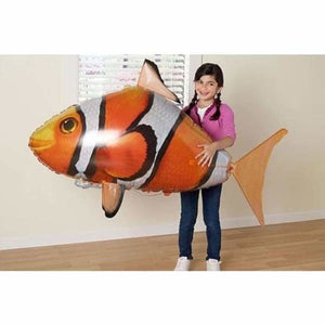 Remote Control Air Swimming Shark & Clownfish - Home