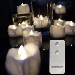Remote Controlled LED Candles - Candles - perfect-flames-less-candle