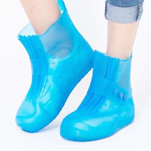 Reusable Waterproof Shoes - Blue - Storage Bags