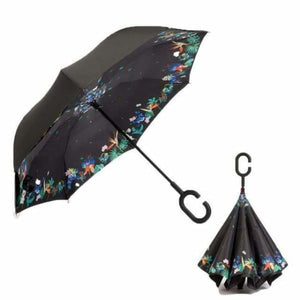 Revolutionary Upside Down Reverse Double Skin Umbrella - Deciduous flowering - Umbrellas
