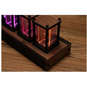Rgb pseudo-glow tube clock - instrument parts & accessories - rgb-pseudo-glow-tube-clock