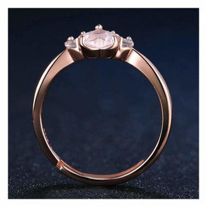 Rose Gold Paw Ring - Rings