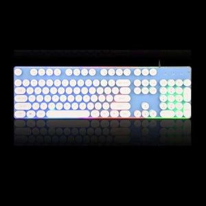 Russian Gaming Keyboard - Keyboards - English White - russian-gaming-keyboard