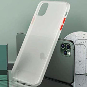 Shockproof Transparent Case For iPhone - Home - For iPhone 6 6S / Transparent White -