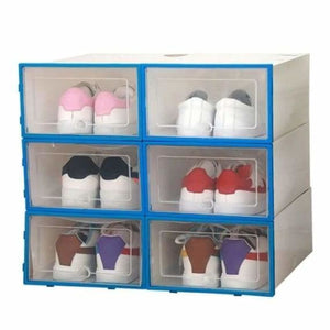 Shoes Storage Box - Home - Blue - shoes-storage-drawer-container