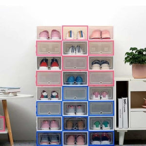Shoes Storage Box - Home - shoes-storage-drawer-container