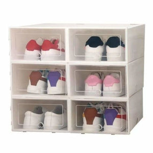 Shoes Storage Box - Home - White - shoes-storage-drawer-container