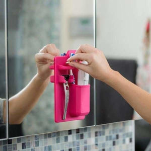 Silicone Bathroom Organizer - Bathroom Accessories Sets