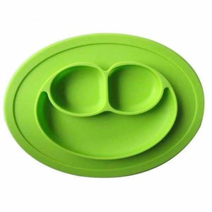 Silicone Non-Slip Placemat With Plate/Bowl For Babies - Dishes