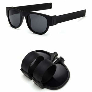 Slap Fashion Polarised Sunglasses - BLACK - Sunglasses