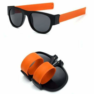 Slap Fashion Polarised Sunglasses - ORANGE - Sunglasses