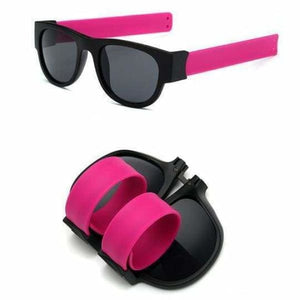 Slap Fashion Polarised Sunglasses - PINK - Sunglasses