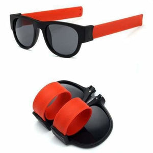 Slap Fashion Polarised Sunglasses - RED - Sunglasses