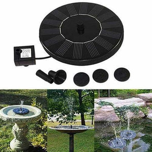 Solar-Powered Bird Fountain Kit - Garden Sprinklers