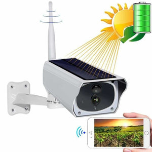 Solar Surveillance Security Camera - Surveillance Cameras - Camera Only - solar-surveillance-camera