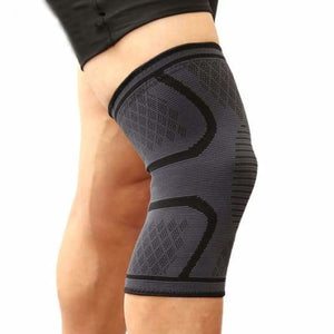 Sports knee support brace - elbow & knee pads - black / s - sports-knee-support-brace