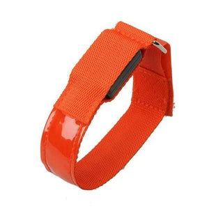 Sports Led Night Running Armband - Red - Bicycle Light