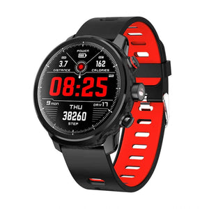 Sports Smart Watch 100 Day Standby - Red - Smartwatch