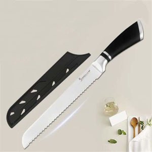 Stainless Steel Chef Knives - Kitchen Knives - D.8 inch Bread - stainless-steel-chef-knives