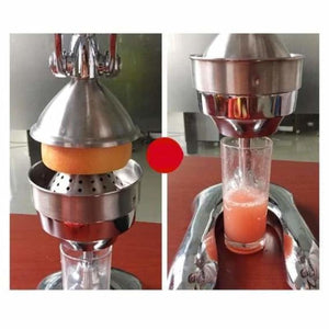 Stainless steel citrus fruits squeezer - juicers - stainless-steel-citrus-fruits-squeezer