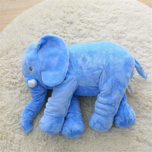 Ultra Soft Elephant Pillow Dolls For Babies - Stuffed & Plush Animals - Blue / 40cm - ultra-soft-elephant-pillow-dolls-for-babies