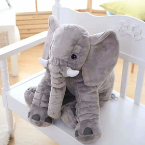 Ultra Soft Elephant Pillow Dolls For Babies - Stuffed & Plush Animals - Gray / 40cm - ultra-soft-elephant-pillow-dolls-for-babies