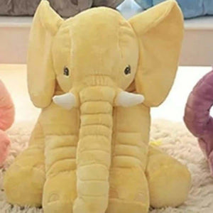 Ultra Soft Elephant Pillow Dolls For Babies - Stuffed & Plush Animals - Yellow / 40cm - ultra-soft-elephant-pillow-dolls-for-babies