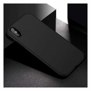 Ultra Thin Matte Case For iPhone X - Black - Fitted Cases